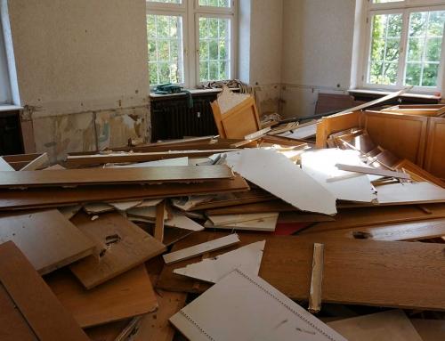 08/2019 Schutz- und Abbrucharbeiten Rathaus